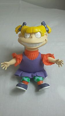 Rugrats Angelica plush and plastic toy by via com. Rare * FREE SHIPPING *