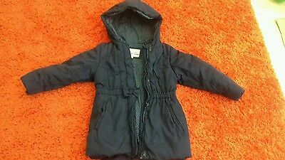 girls M&S coat age 5-6