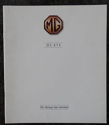 Mg Rv8  The Marque Has Returned