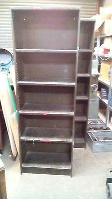 Metal Bookcase #2 1830mm tall Industrial Racking