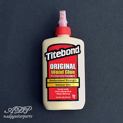 TITEBON Colle Bois RESINE ALIPHATIQUE 8oz 237ml Original Woodworking Wood Glue