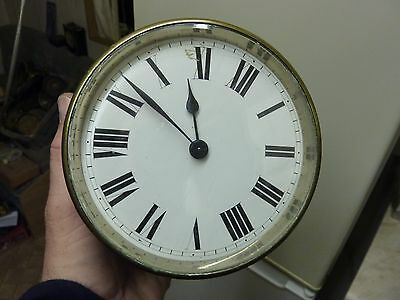 Large Antique French Drum Clock - Working Fine