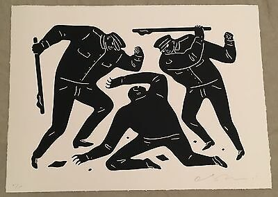 Cleon Peterson Civil Rights Signed Screen Print Art Limited Ed #/100