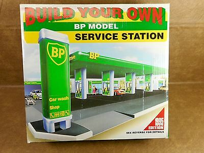 Build Your Own BP Model Service Station - NEW OLD STOCK