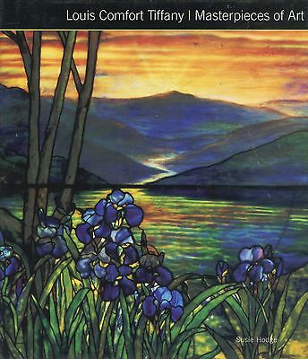 Louis Comfort Tiffany Art Glass Stained Windows Lamps Ceramics / Book