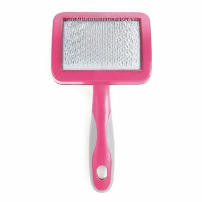 Ancol Ergo Cat & Kitten Slicker Brush Pink