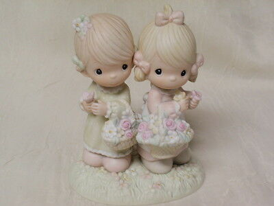 "1985 Precious Moments Enesco "" To My Forever Friend "" Samuel J. Butcher"