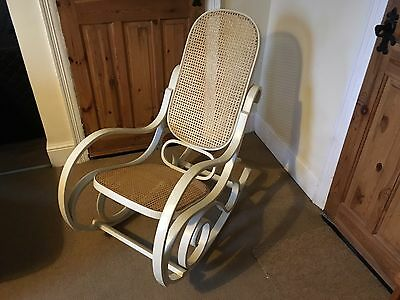 Vintage American steamer style rocking chair