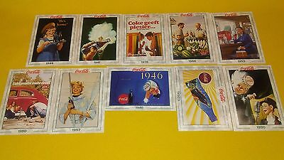 Coca Cola Cards Lot Of 10