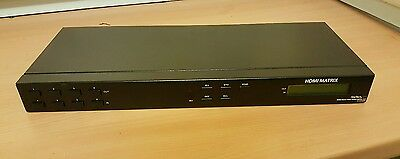 Startech VS-440HDMI 4x4 HDMI Matrix Switch Splitter with RS232 and IR