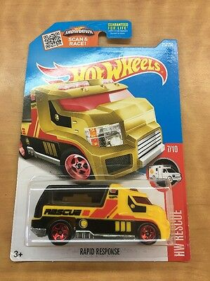 HOT WHEELS...Rapid Response...HW RESCUE 7/10...217/250...New In Package