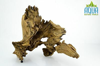 (A-5609)  Oak Bogwood Aquarium Wood (Red moor) Size L
