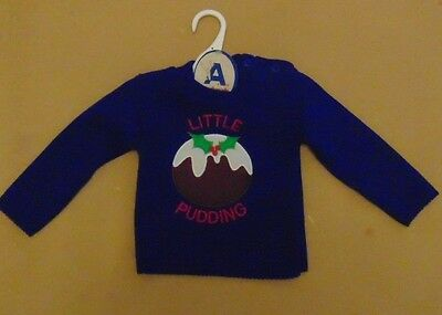 baby christmas jumper(little pudding)
