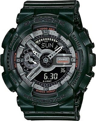 Gmas-110Mc-3A Green Casio G Shock X Metallic Color S Series New Gma-S110Mc-3A