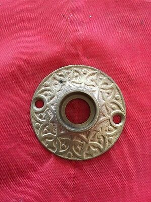 Brass Rosette Antique Hardware 2 Available Free Shipping