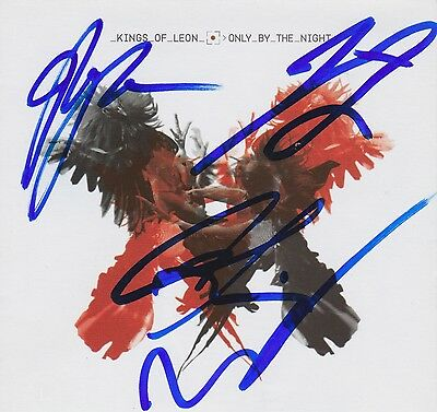 Kings of Leon signed Only By The Night cd