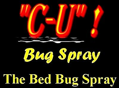 Say Bye-Bye to Bed Bugs SAFELY NonTox Spray  CUbugspray  *CONC. makes 1-1.5 GAL.