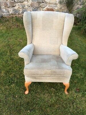 Wing Back Chair By Parker Knoll