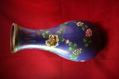 Antique Chinese Cloisonne Vase 27 cm in Height