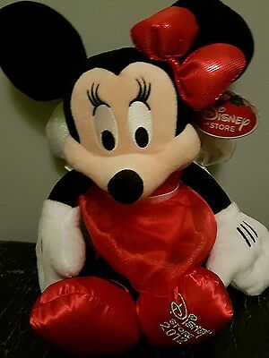 Disney Store MINNIE MOUSE FAIRY soft toy NEW BNWT Christmas Limited Edition