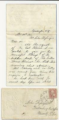 2 Civil War Letters: 2nd LA Throws Shells at Miners Hill; Sad Death Reported