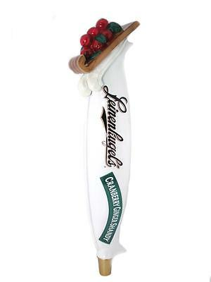 Leinies Leinenkugels Tap Handle Cranberry Ginger Shandy Beer Canoe 14""