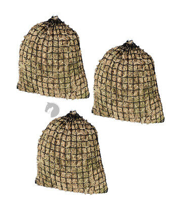 Hay net Greedy Steed Premium Knotless Haynet 4cm horse float LARGE 3 Biscuits