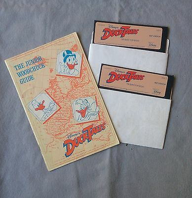 Disney Duck Tales the quest for gold - vintage computer game IBM version