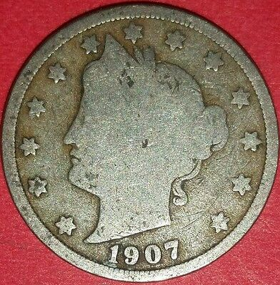 1907  Liberty Nickel  ID #6-65