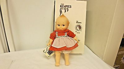"1983 Jesco Kewpies by Rose O'Neil Cameo 11"" Doll-Goes to school Girl Boxed #2105"