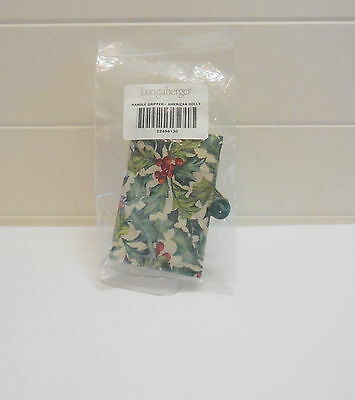 Longaberger American Holly Handle Gripper New In Bag