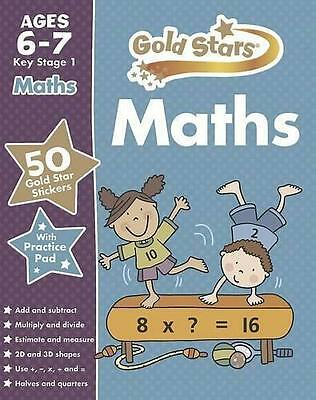 Gold Stars Maths  6 - 7 Years  School  Workbook - Key Stage 1
