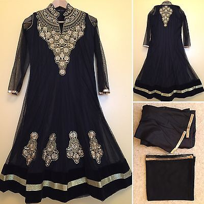 Readymade Asian,Indian,Pakistan,Anarkali.UK SIZE 8-10 (bust size-37,length-43).