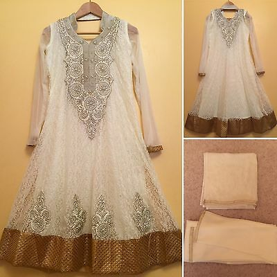 Readymade Asian,Indian,Pakistan,Anarkali.UK SIZE - 8 (bust size-36,length-43).