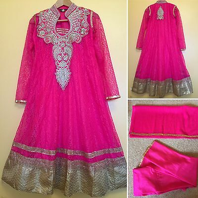 *CLEARANCE*Readymade Asian,Anarkali.UK SIZE 10 (bust size-38,length-43).