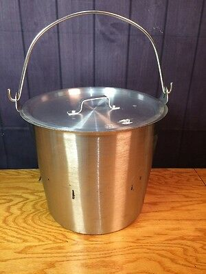 Vollrath Stainless Steel Bucket Pot Commercial Very Good Condition