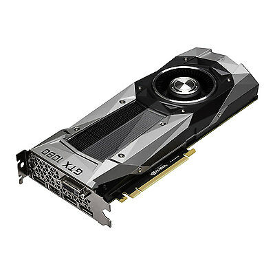 MSI NVIDIA GeForce GTX 1080 8GB Founders Edition Graphic Card