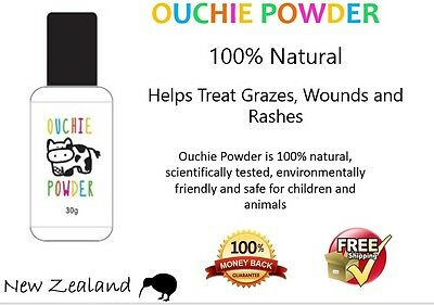 Ouchie Powder - 100% Natural, Quickly Stops Bleeding, Accelerates Healing