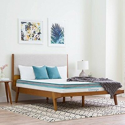 LinenSpa 8-inch Memory Foam and Innerspring Twin Size Hybrid Bed Mattress New