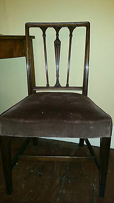 Dark Wood Wide Victorian Chair Beautiful Decorative Spindles Aesthetic Movement?