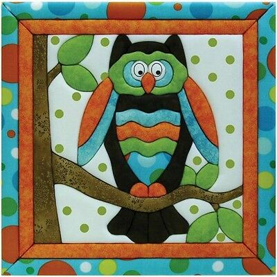Quilt Magic 12-Inch by 12-Inch Owl Kit