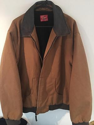 Rm Williams   Mens Bomber Jacket     Size Xxl    Great Condition