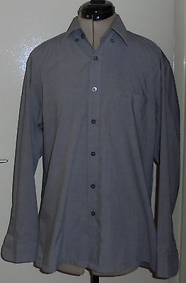 Chemise homme Manches longues Gris HUGO BOSS Taille L neuf