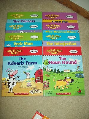 Parts of Speech Tales 8 books by Scholastic