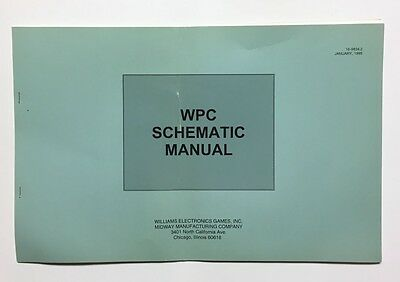 Original Bally Theatre Of Magic Wpc Schematic Manual With Hand Book