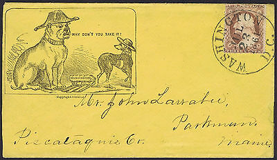 1861 Why Dont You Take It US Civil War Patriotic Cover