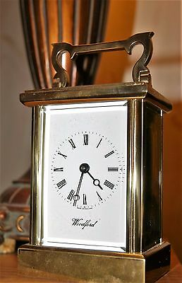 Vintage carriage clock WOODFORD