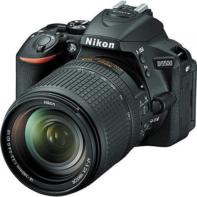 Nikon D5500 DSLR Camera with 18-140mm Lens (Black)!! BRAND NEW!!
