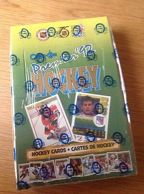 Unopened Box O Pee Chee 1992 NHL Ice Hockey Trading Cards