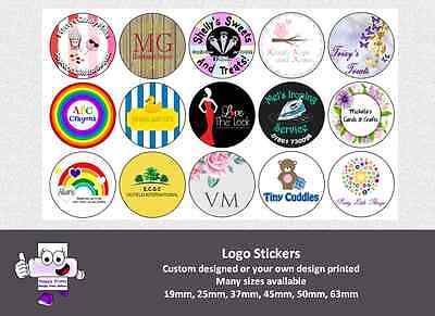 Printed Logo Stickers